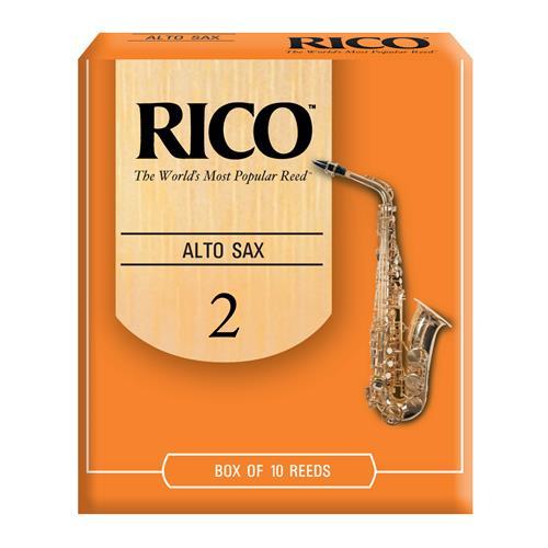 Rico Alto Saxophone Reeds - #2, 10 Box