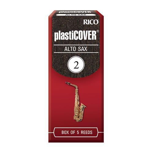 Rico Plasticover Alto Saxophone Reeds - #2, 5 Box