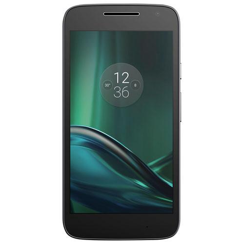 Téléphone intelligent Moto G Play 16 Go de Motorola offert par Koodo - Avec forfait Petite Balance