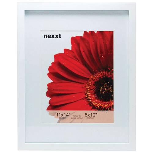 """Nexxt Gallery 11"""" x 14"""" Picture Frame - 6 Pack - White"""