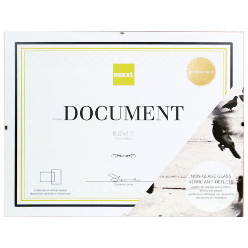 """Nexxt 8.5"""" x 11"""" Document Frame - 48 Pack - Clear"""