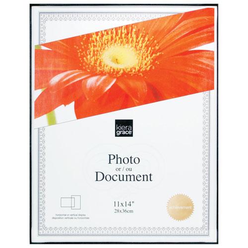 "Kiera Grace 11"" x 14"" Document Frame - 24 Pack - Black"
