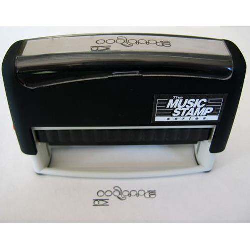 The Music Stamp MSSB-F Flute Stamp