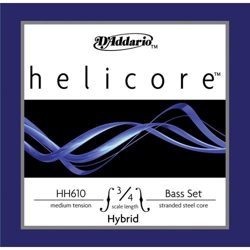 String Double Bass E D'Addario Helicore Hybrid HH614 3/4M