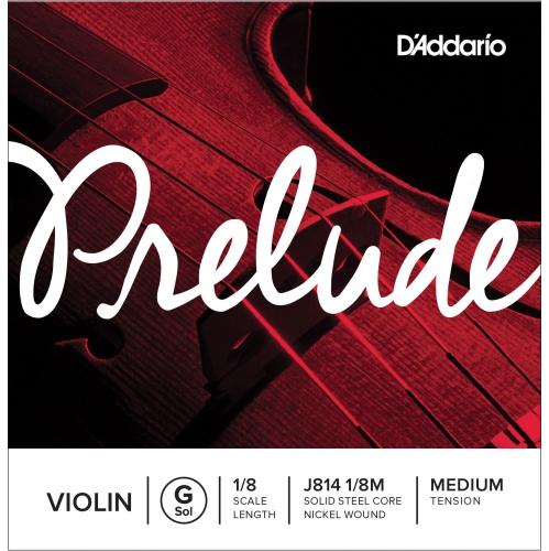 Prelude Violin Single G String, 1/8 Scale, Medium Tension
