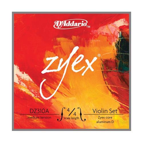Strings Vln Set D'Addario Zyex DZ310A 4/4 M (Alum D)
