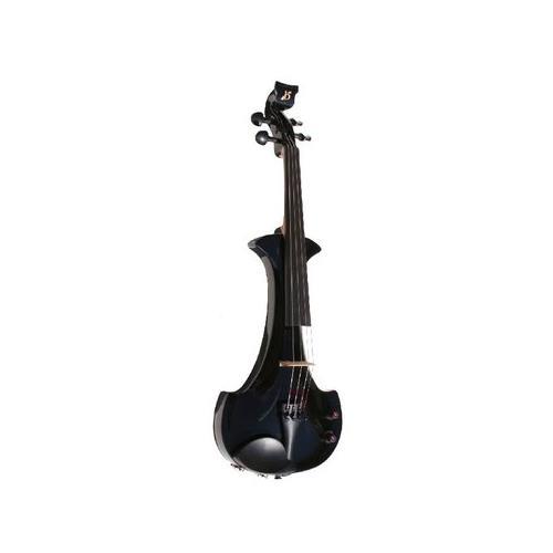 Violin Electric Bridge Aquila EV4 4/4 Outfit Black
