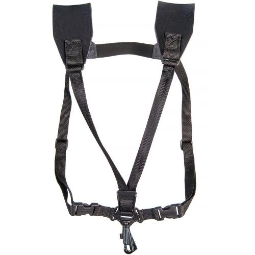 Neotech Soft Harness Saxophone Strap with Swivel Guard - X-Long - Black