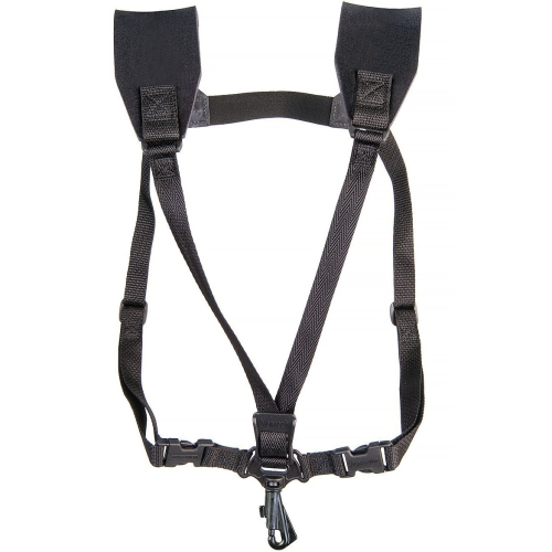 Neotech Soft Harness Saxophone Strap with Swivel Guard - JR Size - Black