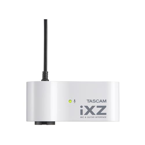 Tascam iXZ Mic/Instrument Interface for iPad/iPhone/iPod Touch