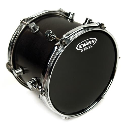 """Evans B12ONX2 12"""" Onyx Snare/Tom/Timbale"""