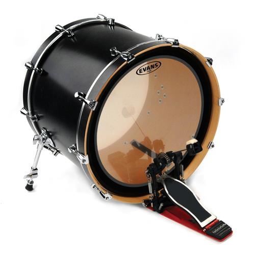 """Evans BD24EMAD2 24"""" EMAD2 Clear Bass Drumhead"""