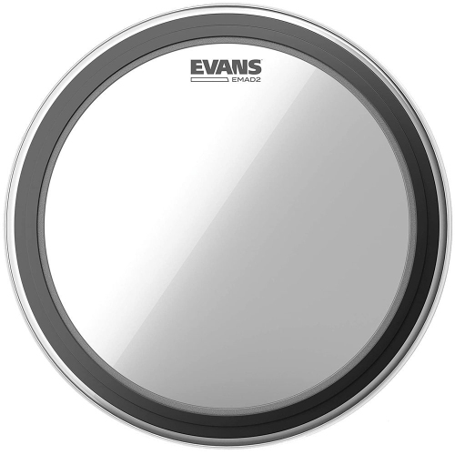 """Evans BD22EMAD2 22"""" EMAD2 Clear Bass Drumhead"""