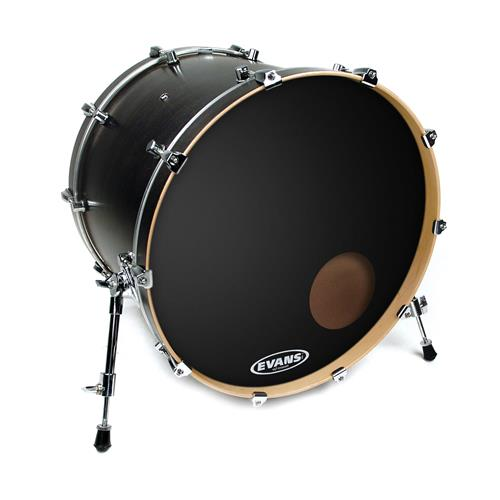 "Evans BD18RB 18"" EQ3 Black Bass Drumhead"
