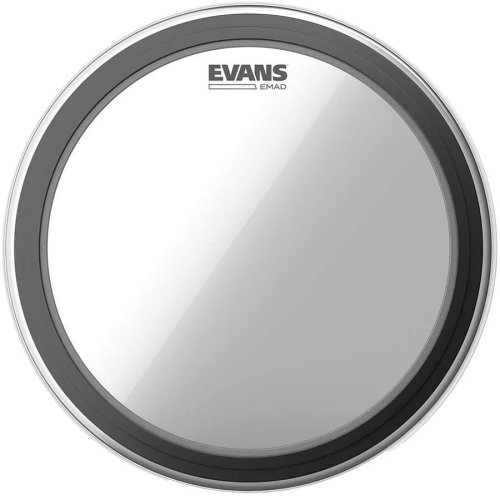 """Evans BD22EMAD 22"""" EMAD Clear Bass Drumhead"""