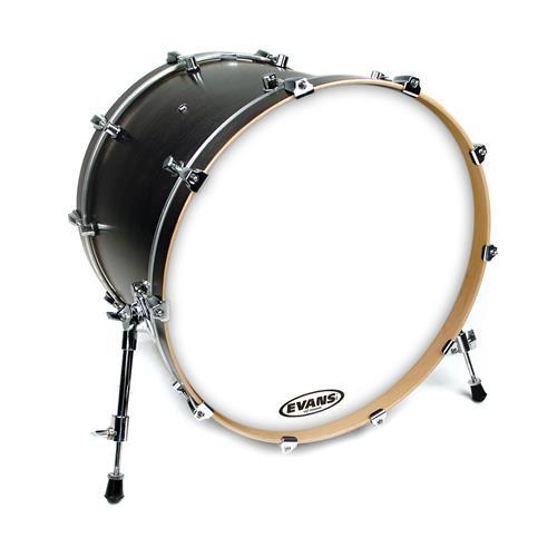 "Evans BD22RGCW 22"" EQ3 Coated White Bass Drumhead"