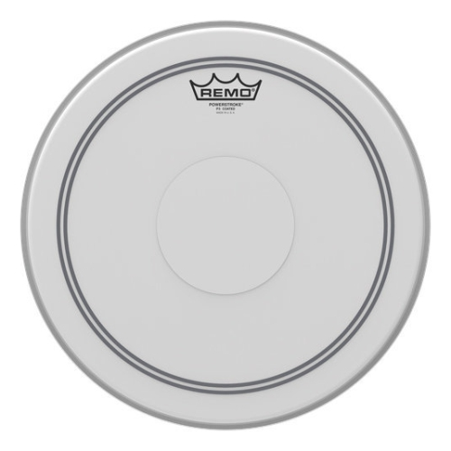 """Remo Powerstroke P3 Coated Drumhead - Top Clear Dot, 14"""""""