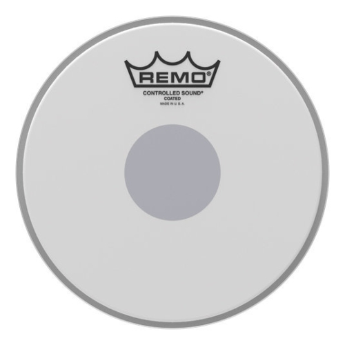 """Remo Controlled Sound Coated Black Dot Drumhead - Bottom Black Dot, 14"""""""