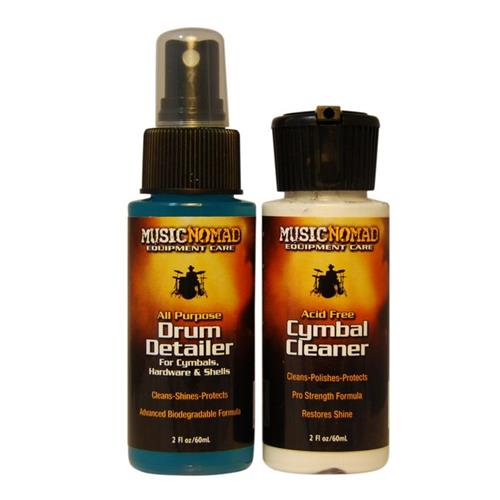 Polish Music Nomad Drum Detailer/Cymbal Cleaner Combo Pack
