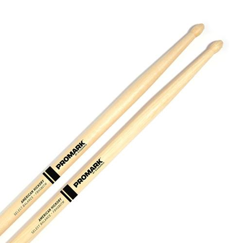 "ProMark FBH580TW Forward Balance Hickory Drumsticks - .580"" Tear Drop Wood Tip"