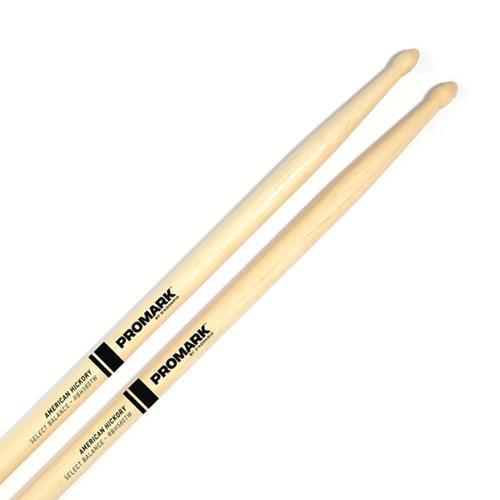 "ProMark Rebound 55A .580"" Hickory Tear Drop Drum Sticks - Wood Tip"