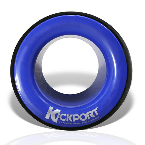 Damper Bass Drum KickPort Blue