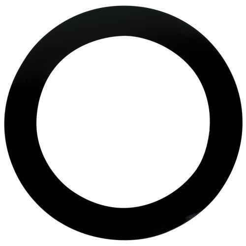 "Template Dynamos Remo DM-0005-71 5"" Black,Bass Drum Hole Cut"
