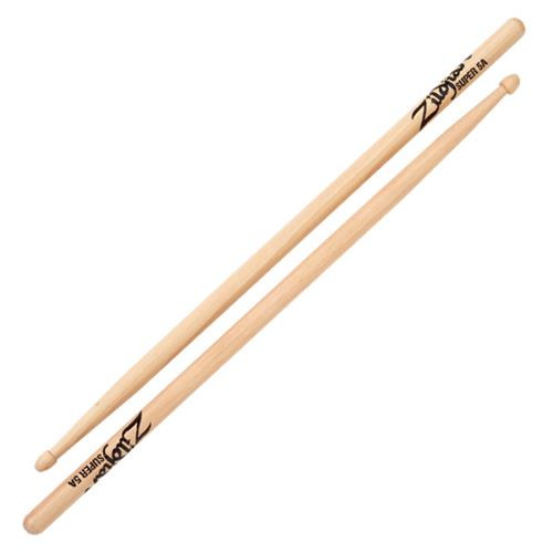 Zildjian S5AWN Super 5A Wood Natural Drum Sticks