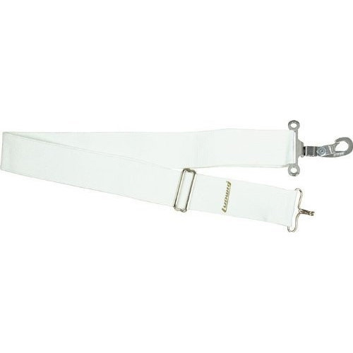 Black Parade Marching Snare Drum Strap - White