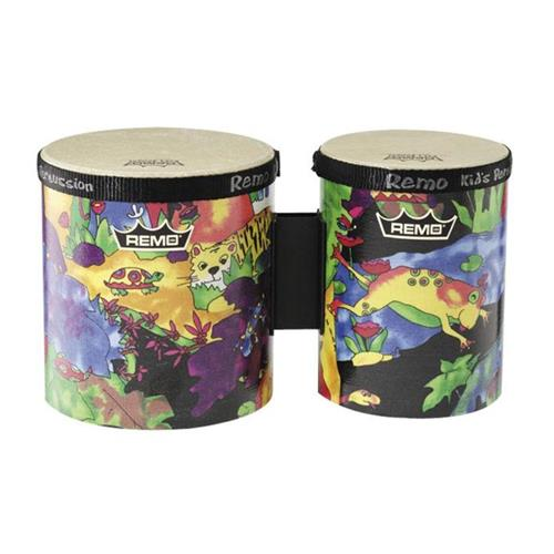 Remo KD-5400-01 Kids Percussion Bongo Set - 5/6""