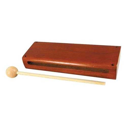 Rhythm Band RB760 Wood Block with Mallet