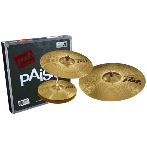 """Paiste PST 3 Universal Cymbal Set - 14""""/16""""/20"""""""