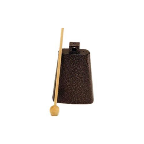 """Rhythm Band RB1221 5 3/4"""" Cowbell with Mallet - Nickel Colour"""