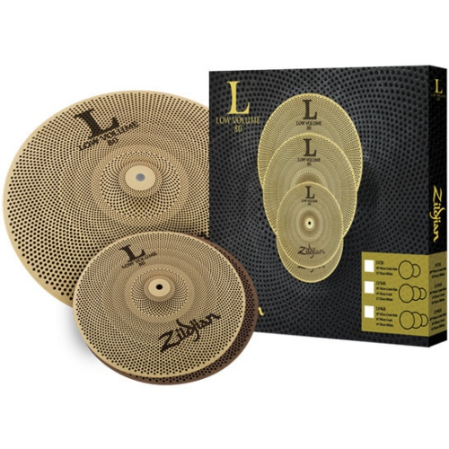 Zildjian LV38 L80 Low Volume Cymbal Set - 13/18