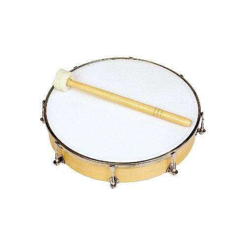 "Rhythm Band RB1180 10"" Tunable Hand Drum - 8 Tuners with Mallet"