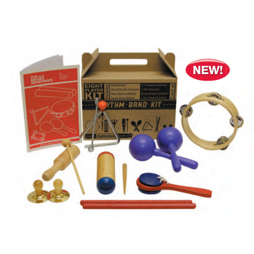 Rhythm Band RB19 8 Player Rhythm Kit