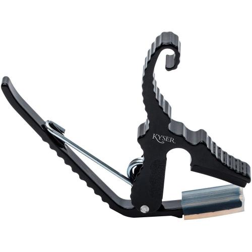 Capo Guitar Acoustic Kyser KG3B Black Shortcut