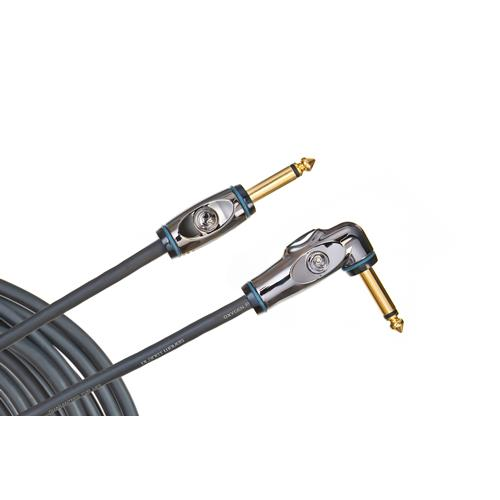 Planet Waves Circuit Breaker Instrument Cable - Right Angle - 10'