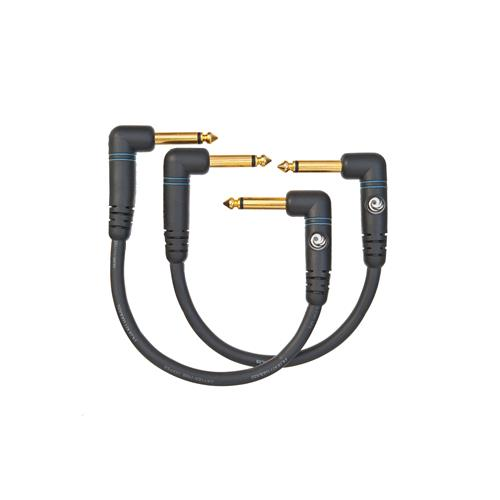 Planet Waves 6' Custom Series Patch Cable - Right Angle - 2 Pack