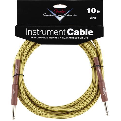 Fender Custom Shop Performance Series Cable - 10', Tweed