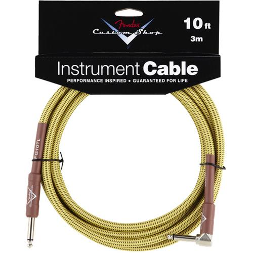 Fender Custom Shop Performance Series Cable - 10', Tweed