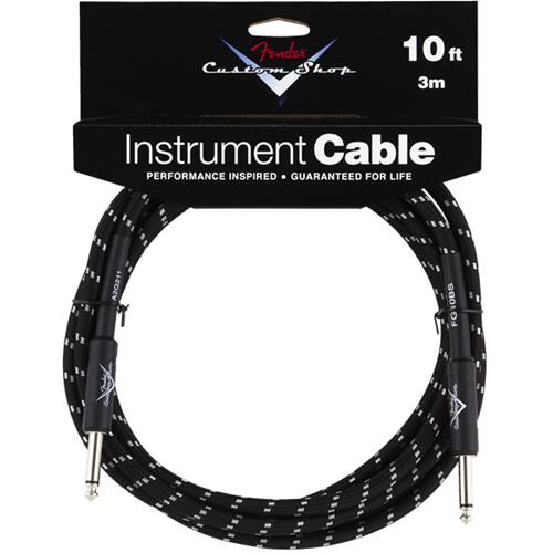 Fender Custom Shop Performance Series Cable - 10', Black