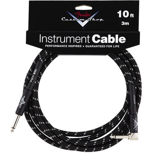 Fender Custom Shop Performance Series Cable - 10', Black