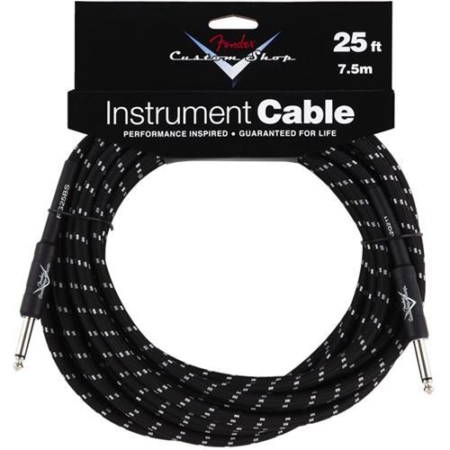 Fender Custom Shop Performance Series Cable - 25', Black