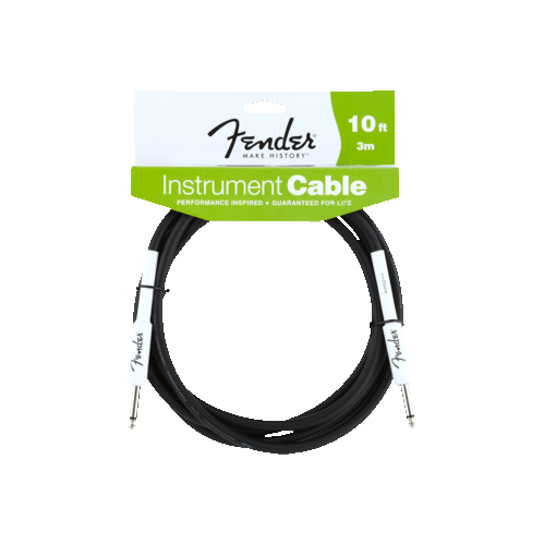 Fender Performance Series Instrument Cable - 10', Black
