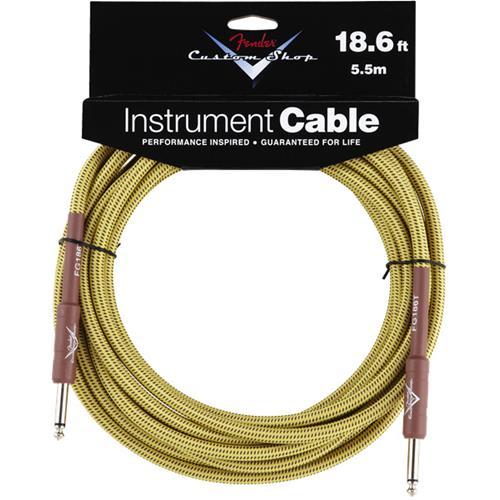 Fender Custom Shop Performance Series Cable - 18.6', Tweed