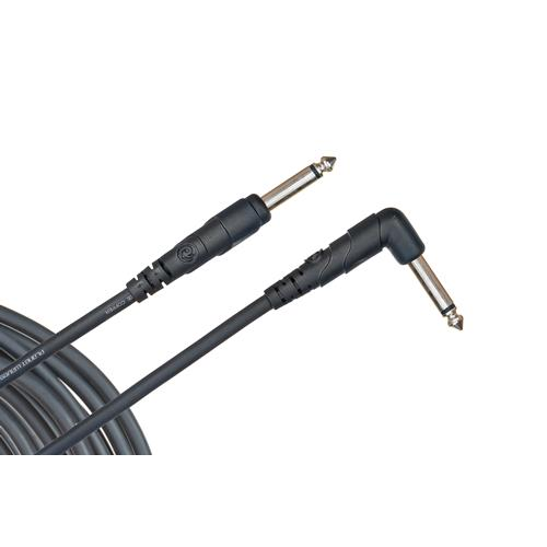 Planet Waves Classic Series Instrument Cable - Right Angle Plug - 10'