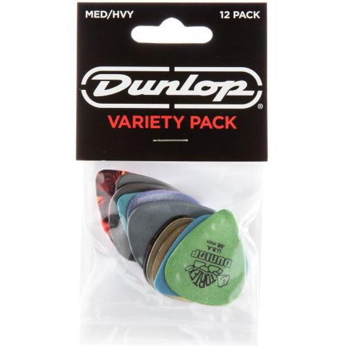 Picks Jim Dunlop PVP102 Dunlop Variety Pack Md/Hvy (12)