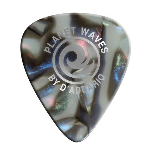 Planet Waves Abalone Celluloid Guitar Picks - Light, Assorted 10 Pack