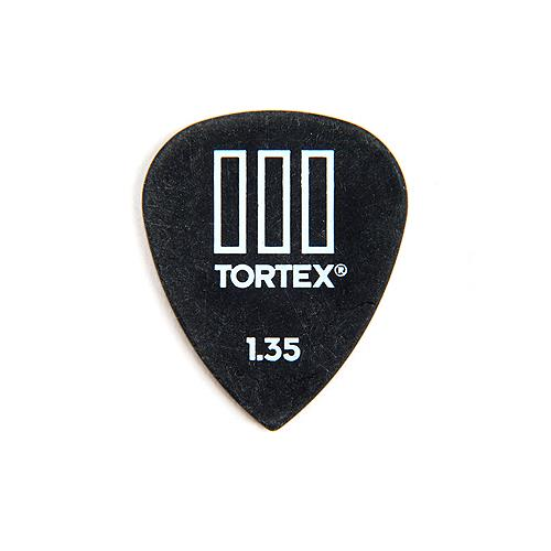 Picks Jim Dunlop 462P1.35 Tortex III Players Pk 1.35 (12)